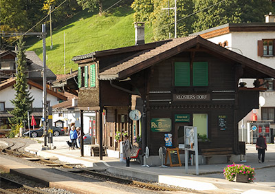 Klosters Dorf Railway Station